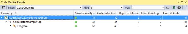 Exploring the Code Metrics Tool in Visual Studio
