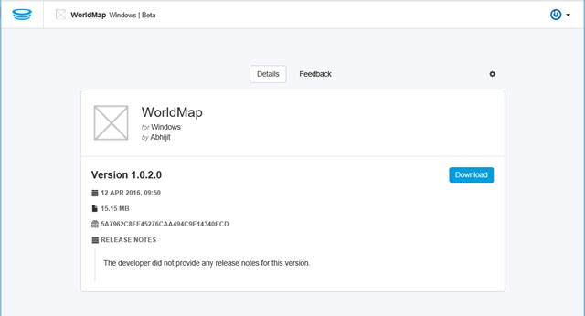 Download - Uploaded Universal App in HockeyApp