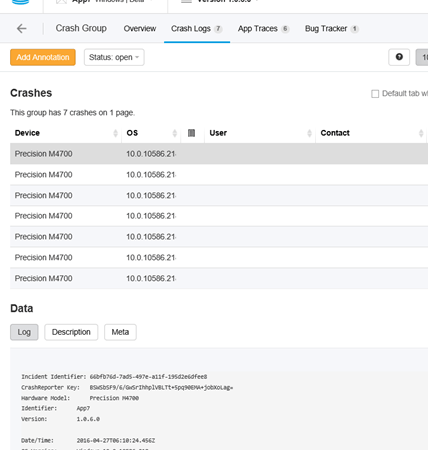 Easy Crash Reporting for Your Universal Windows Apps using HockeyApp