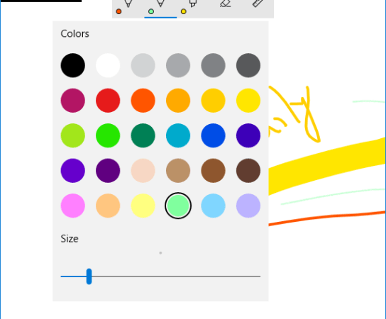 Using an InkToolbar with InkCanvas in your Windows Universal Apps