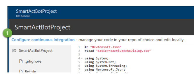 Configure continuous integration