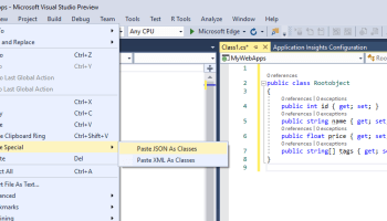 Xml documentation in your classes a common syntax summary did you know you can automatically create classes from json or xml in visual studio ccuart Gallery