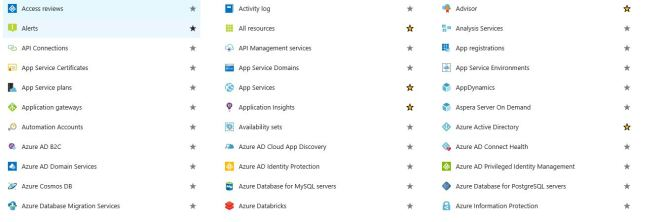 All Azure Services