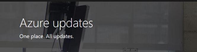 Azure Services Updates