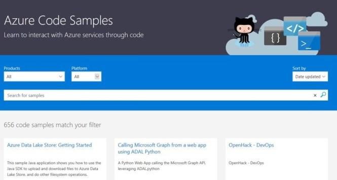 Code Samples for Azure