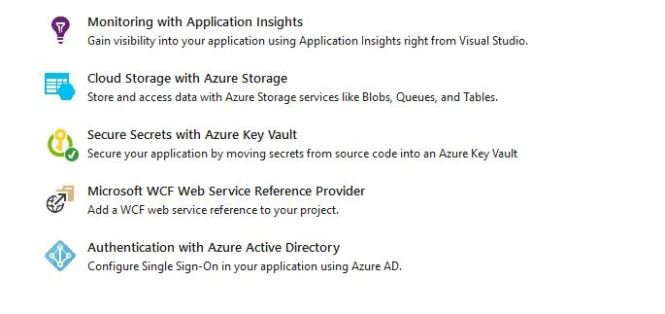 Connected Azure Key Vault Services for Visual Studio