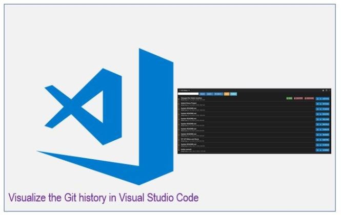Visualize the Git history in Visual Studio Code - Daily  NET Tips
