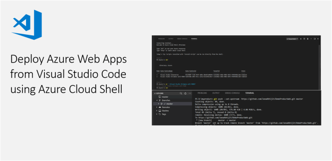 Deploy Azure Web Apps from Visual Studio Code using Azure