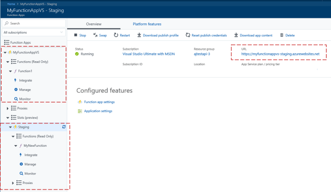 New Version of Deployment of Azure Function
