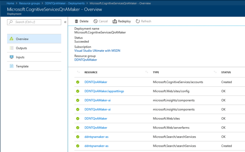 deployments of azure resources: Resources for Deployments