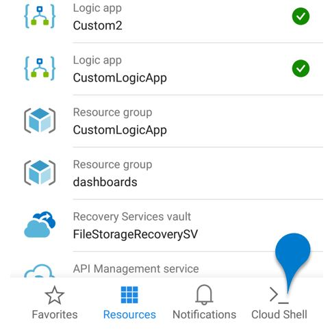 Azure Cloud Shell - Cloud Shell