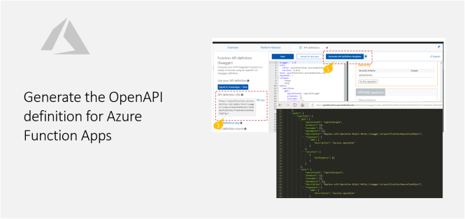 Generate the OpenAPI definition for Azure Function Apps - Featured Apps