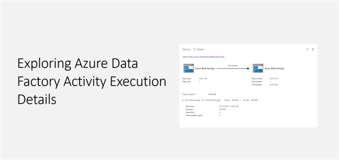 Exploring Azure Data Factory Activity Execution Details