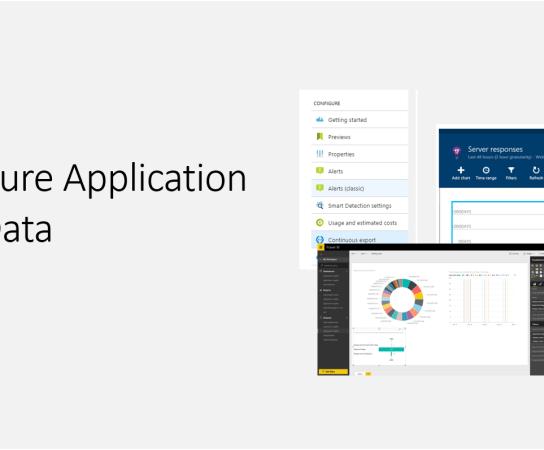 Export Azure Application Insights Data