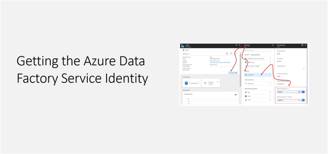 Getting the Azure Data Factory Service Identity - Featured
