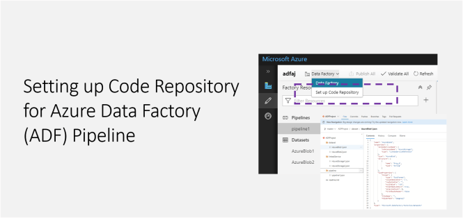Setting up Code Repository for Azure Data Factory (ADF) Pipeline - Featured