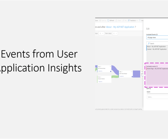 Excluding Events from User Flows in Application Insights