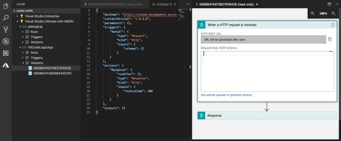 Logic Apps in VS Code