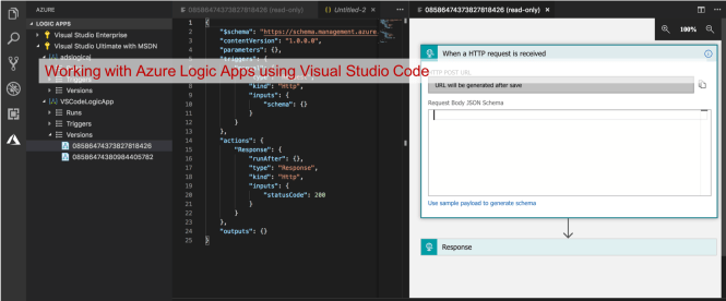 Working with Azure Logic Apps using Visual Studio Code - Daily  NET Tips