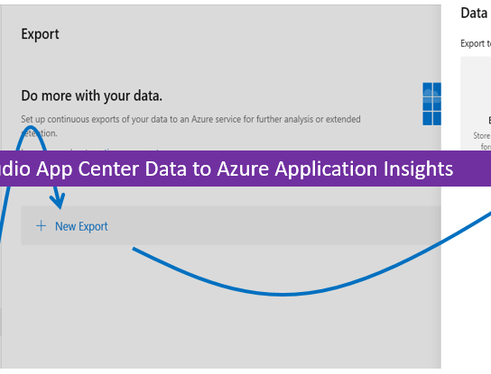 Exporting Visual Studio App Center Data to Azure Application Insights