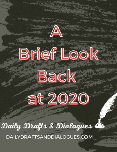 Writing Draft_A Look Back at 2020, Journal Entry