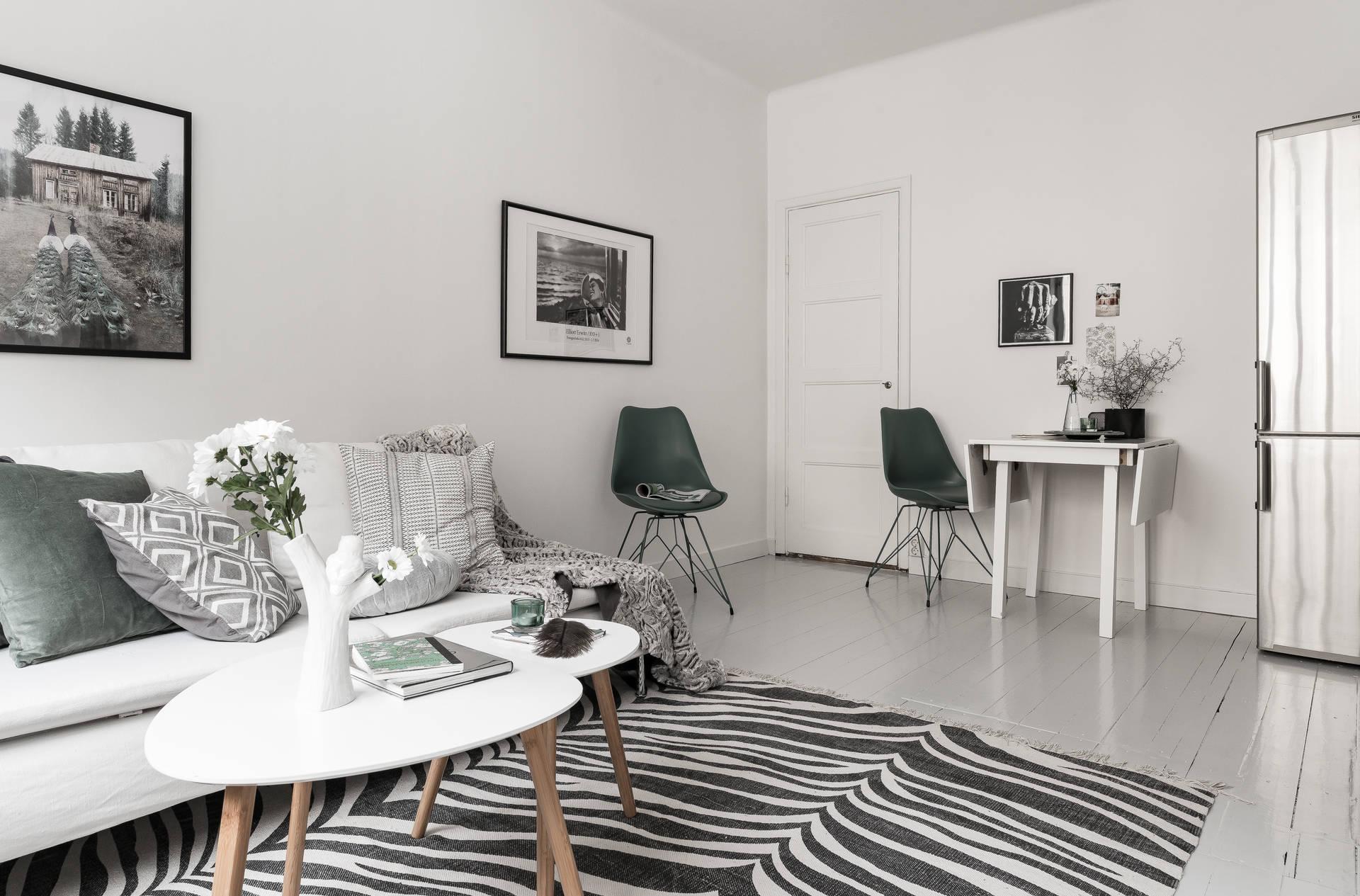 Dreamy Studio Apartment In Grey Shades