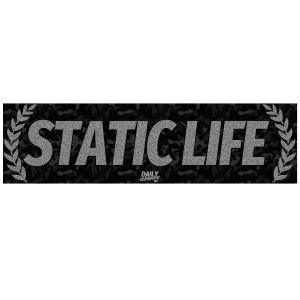 Static Life Bumper Sticker