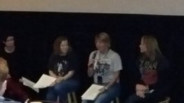 A Duranie author panel