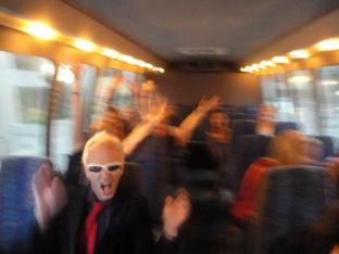 We chartered a bus to take a bunch of us to the Atlanta show...it was crazy!