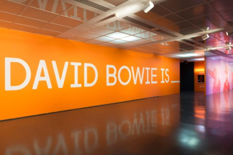 David Bowie Is wall