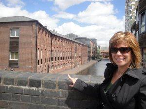 Duran Duran in Birmingham - Rhonda by a canal
