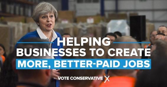 EconomyTheresa May economy and jobs
