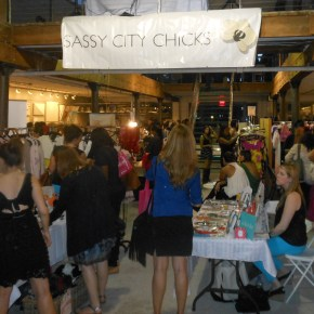 A Shot of the Crowd at Sassy City Chick's Event, Sassy City Chick, #MiaChicksNightOut
