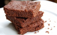 Savory Spring Break Snacks, brownies, chocolate brownies
