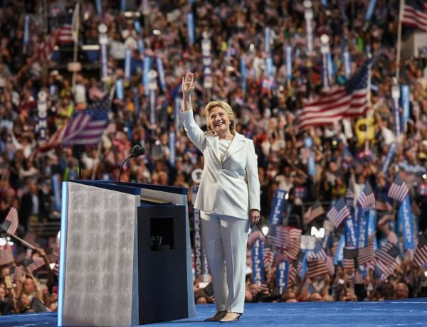 Highlights from the Democratic National Convention, Hillary Clinton, Hillary Clinton at the DNC, Hillary Clinton DNC speech