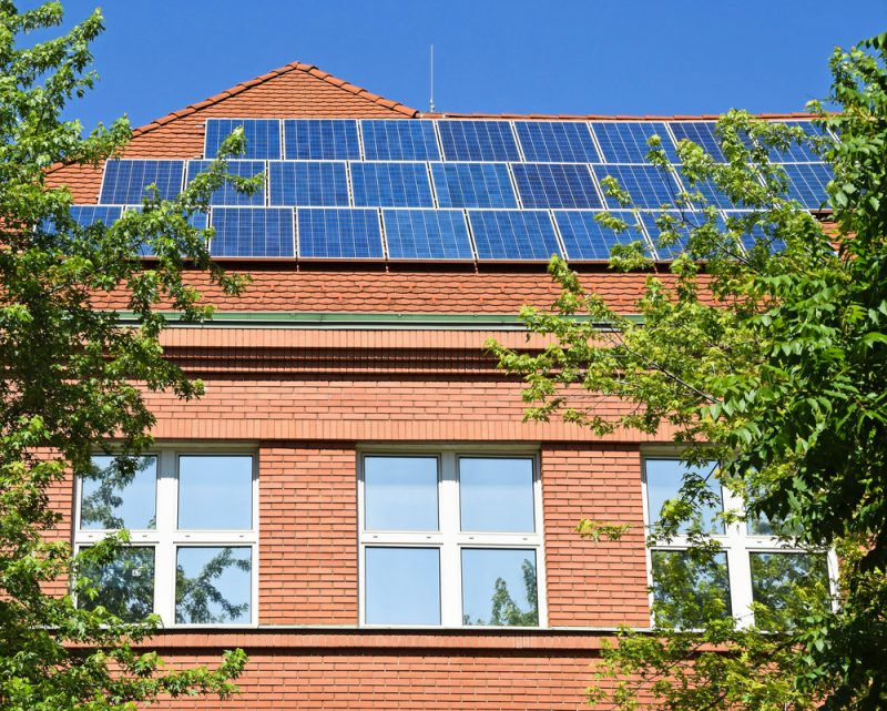 Solar Panels Rose Hill Middle School
