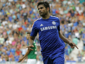 Diego Costa is one of the Top 10 Fastest Football Players In The Premier League this season
