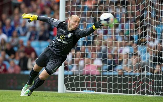 guzan 2765783b Football Players That Have Performed The Best So Far 2014
