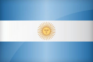 Argentina is part of the top 8 countries with the most world cup trophies