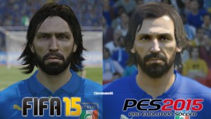 Andre Pirlo is one of the Top 10 Football Stars That Need Improvement in FIFA 16