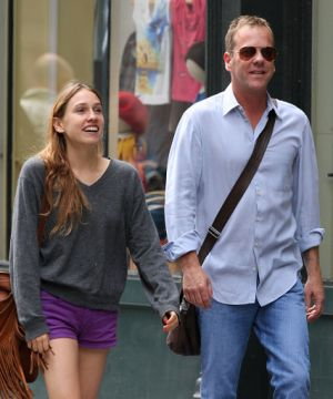 Kiefer Sutherland39s Wives and Girlfriend