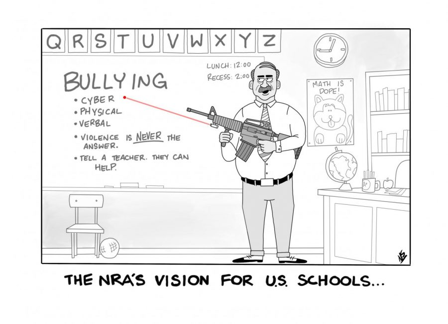 The NRA's vision for US Schools