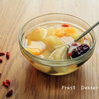 Fruit Dessert Soup
