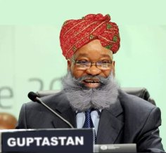 The Guptastan leader