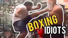 Boxing Fail 🏆GYM IDIOTS 🏆
