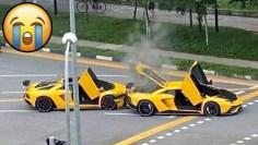 SUPERCARS CRASH & FAIL Compilation – Lamborghini, Ferrari, Porsche, Mclaren & more!
