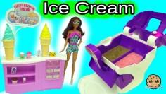 Big Fail Video – Ice Cream Maker Machine Makes Real Food for Disney Frozen Kristoff & Anna Dolls