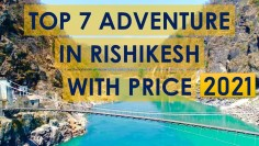Rishikesh Adventure Activities 2021 | Best Adventure Sports in Rishikesh With Price | Rishikesh Vlog