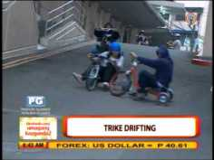 New extreme sport: Pinoy drift trike