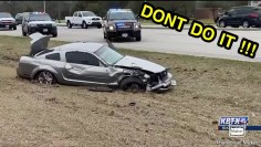 NEVER GO FULL MUSTANG CRASH AND FAIL COMPILATION (WATCH OUT)